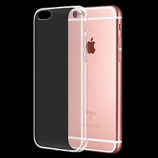 Pour Nouvel Apple iPhone 6S/6 Crystal Clear mince arrière TPU Gel Jelly Skin Case Cover