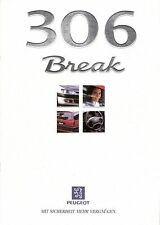 Prospekt / Brochure Peugeot 306 Break 06/1998