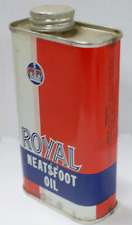 Vintage Royal Brand Neatsfoot Oil - made in USA by Richmond