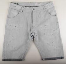 G-Star Raw, ARC 3D 1/2 jeans shorts, gr. W36 Bleach usé look vintage Shorts