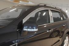 Chrome Plate Wind Deflector 4pcs for 2007 ~ 2015 Vauxhall Opel Antara