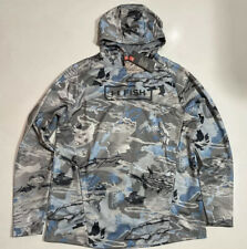 UNDER ARMOUR MEN'S 2XL ARMOUR TECH HYDRO CAMO HUNT HOODIE JACKET NWT