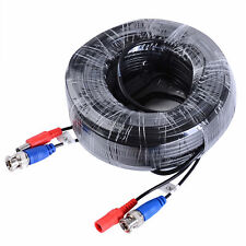 1pcs Special BNC Cable Power 100ft/30m for Security System CCTV Camera UK