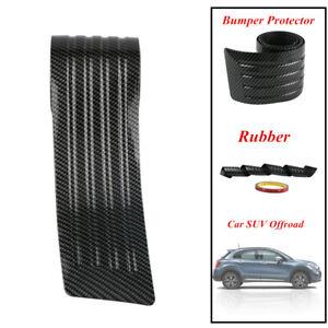 90CM Carbon Fbre Car Trunk Pad Bumper Rear Protector Sill Strong Cover Guard Pad