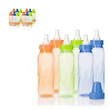 Baby Bottles Evenflo Infant Feeding Bottle Classic Twist Tindet Travel Home 12Pc