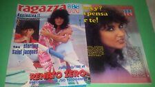 Fotoromanzo Ragazza IN n.10 del 1981 MARCELLA BELLA  + Super Poster RENATO ZERO