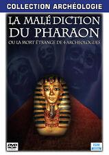 DVD Collection archéologie : La Malédiction du Pharaon