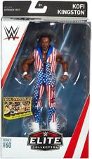 Kofi Kingston WWE Mattel Elite Series 60 New Action Figure - In Stock - Mint PKG