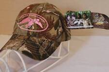 NEW Womens Duck Commander Baseball Cap Camouflage RealTree AP Camo Pink Hat OSFM