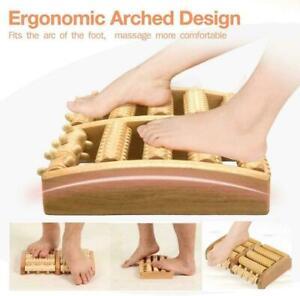 Fussmassageroller Fußmassagegerät Fußroller Holz Fußmassage Holzrollen L