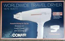 Conair 1875 Watt Worldwide Travel Hair Dryer with Smart Voltage & Folding Handle