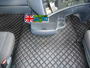 ECO LEATHER [  ENGINE COVER AND FLOOR MATS] FIT SCANIA  R STREAMLINE 2013-2017