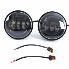 """2PC 4.5"""" 30W Auxiliary LED Fog Light Daymaker Passing Lamp for Harley Motorcycle"""