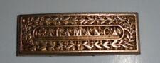 Peninsular War Army Gold Medal Campaign Ribbon Bar Wellington Salamanca Battle