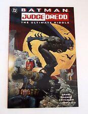 BATMAN - JUDGE DREDD: THE ULTIMATE RIDDLE 1st PRINT 9.4 NM (1995, DC)