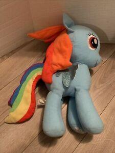 "My Little Pony Rainbow Dash 12"" Plush 2017 Hasbro Toy Factory Stuffed Toy"