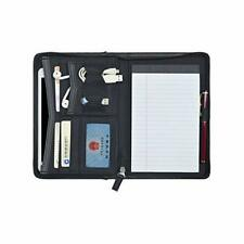 Padfolio Portfolio Mini Leather Zippered Padfolio Portfolio Binder 5 X 8 Pad