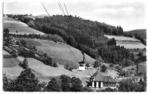 AK, Freiburg im Breisgau, Schauinsland-Bergbahn, Talstation, um 1960