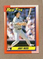 2017 topps rediscover buyback card 1990 96 jody reed boston red sox bronze