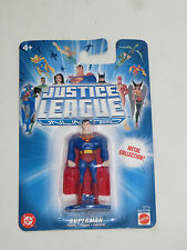 Justice League Unlimited Superman Figure Metal Collection. Mattel 2004. New