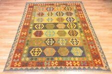 Bright Afghan Handmade Tribal Nomadic Chobi Wool Kilim Rug Large 68x93cm 60 off
