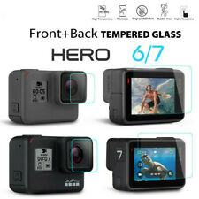 For Gopro Hero 7 6 Camera Accessories Lens & Screen Protector Protective Film 9H