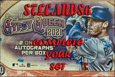 2021 Topps Gypsy Queen (Base Set 1-300) Complete Your Set! MINT WITH PHOTOS!