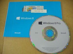 Microsoft Windows 8 Pro 64 bit x64 64 Bit DVD Full English MS WIN 8 =NEW=