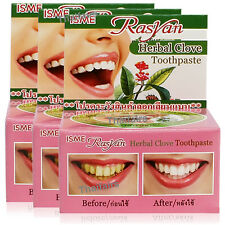 4 x HERBAL CLOVE TOOTHPASTE TOOTH PASTE WHITENING ANTI BACTERIA BAD BREATH DECAY