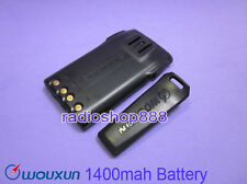 WOUXUN KG-689 KG-UVD1P KG-699E Battery 1400mah Li-ion Battery  + belt clup 066