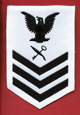 USN RATE SH1 SHIP'S SERVICEMAN FOR WHITE UNIFORM - NOT CURRENT ISSUE