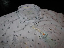 Tommy Bahama New LS Tommy Clipper Pale Lavender Shirt Large L TD39314