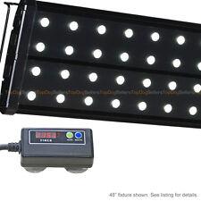 "EVO Quad 72"" Timer 6500K LED Aquarium Light Freshwater Plant Tetra Discus 96x 3W"