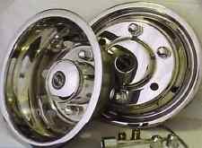 "Vauxhall Movano 16"" Stainless Steel Wheel Trims Twin Rear Wheels Motorama Hull"