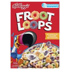 Kellogg's Froot Loops Breakfast Cereal 500g