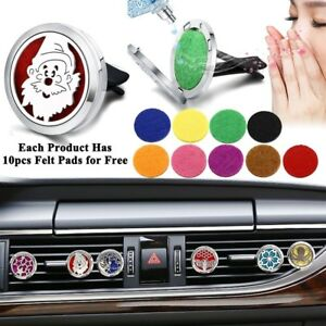 Christmas Car Perfume Aromatherapy Essential Oil Diffuser Air Vent Flavoring