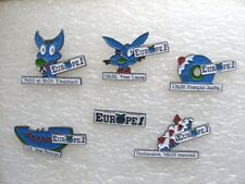 LOT SÉRIE DE 6 PIN'S EUROPE 1 / RADIO CHANNEL PINS PIN R10