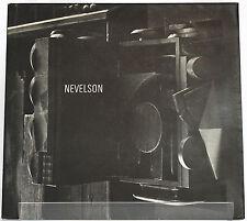 Louise NEVELSON Galerie Jeanne Bucher mai-juin 1969 Plaquette d'expo