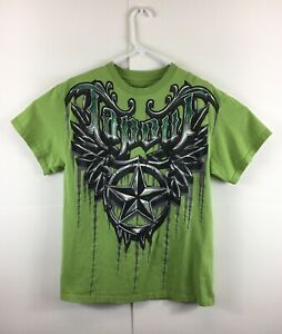 TAPOUT Green Graphic 100% Cotton  Large T-Shirt ( MMA UFC)