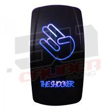 On/Off Rocker Switch Blue Shocker SxS Off Road Chevy Water Proof Jeep Maverick