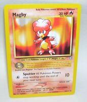 Pokemon Card Magby 23/111 Rare 1995-2000 Nintendo
