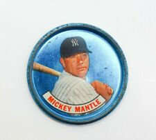 Vintage 1965 Old London Mickey Mantle Baseball Coin Ungraded Excellent Condition