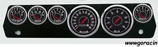 New Vintage USA 1967-1970 Mopar A Body Series Gauge Set,Barracuda,Duster,Dodge _