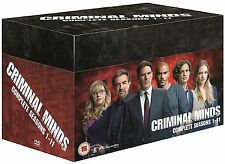 Criminal Minds Complete Collection 1-11 DVD Box Set All Seasons UK Release R2