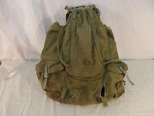 Vintage ORIGINAL WWII WW2 1942 US ARMY BACKPACK W STEEL FRAME Meese 31776