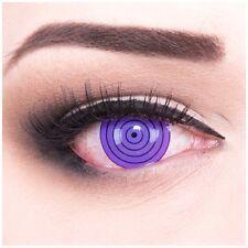 Lenti a contatto colorate Viola Rinnegan Halloween + GRATIS contenitore