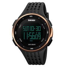 SKMEI hombre de Mujer Chico Deporte reloj de pulsera LED Digital Cronómetro