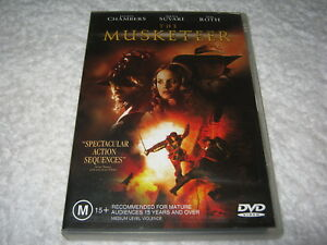 The Musketeer - Justin Chambers - VGC - DVD - Region 4
