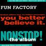 FUN FACTORY Non Stop! The Album CD Album 1994 WIE NEU 90s Eurodance Klassiker !