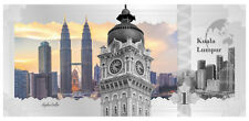 2017 Cook Islands $1 Kuala Lumpur Skyline Foil Note 5 g Proof Silver SKU47894